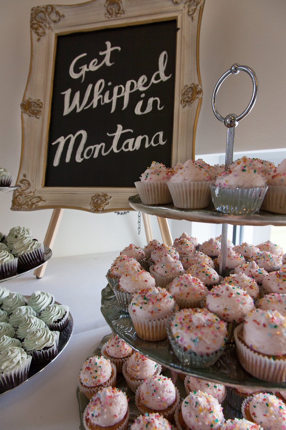 How to make a networking event super rad -- with cupcakes from Whipped in Montana!