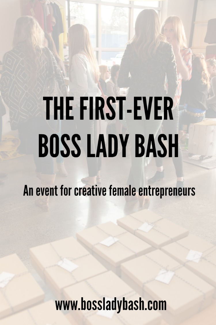 The First Ever Boss Lady Bash in Bozeman Montana - An event for creative female entrepreneurs