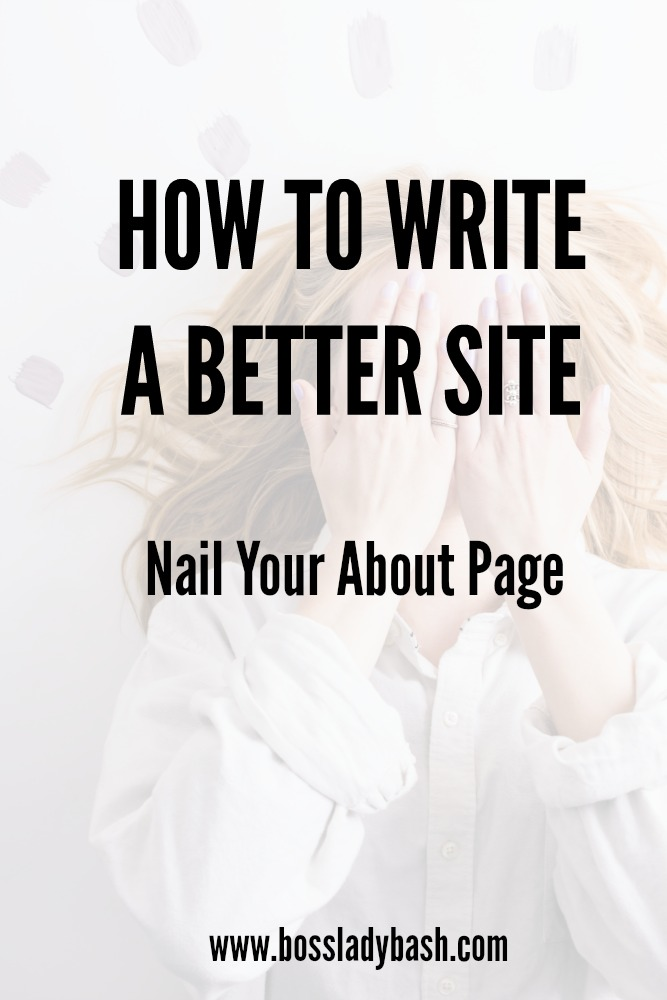 Writing your About Page doesn't have to be so difficult. Learn the best tips to revamp today.