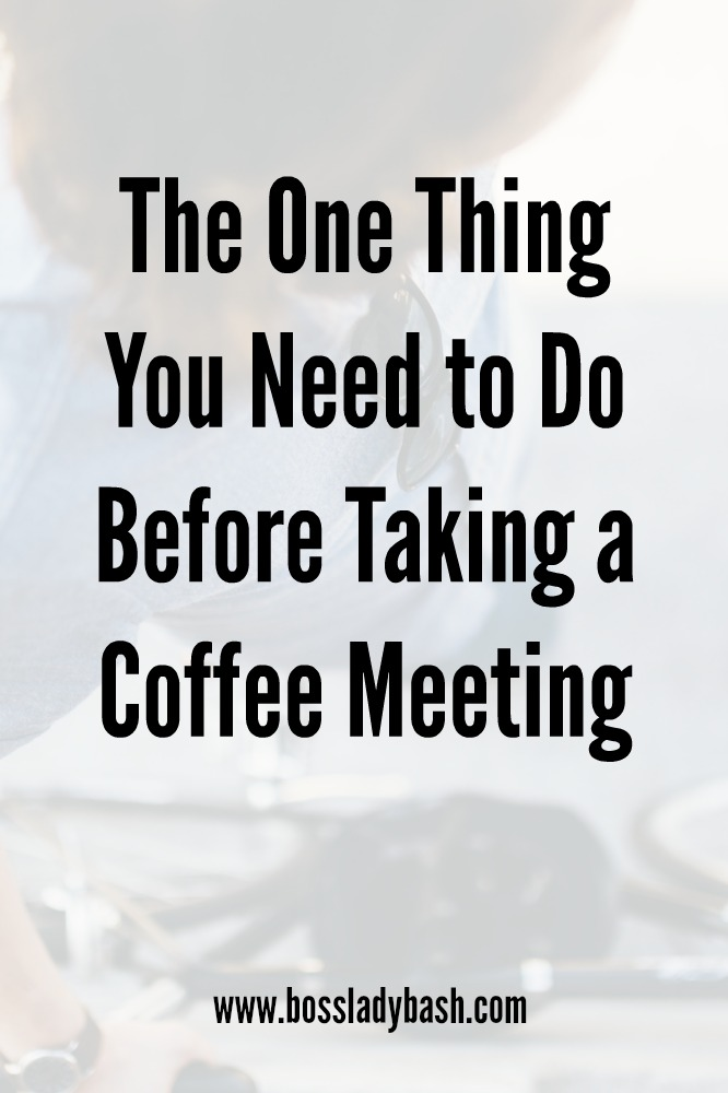 Let's all waste a little less time having 1:1 coffee meetings that don't help our business