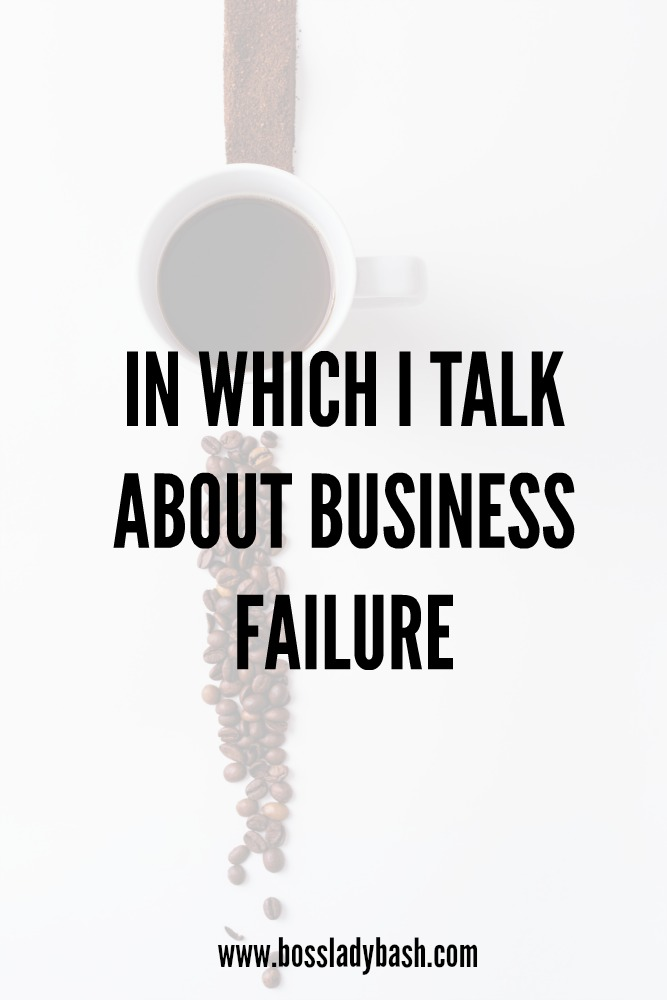 What happens when you fail in your business and how to recover.
