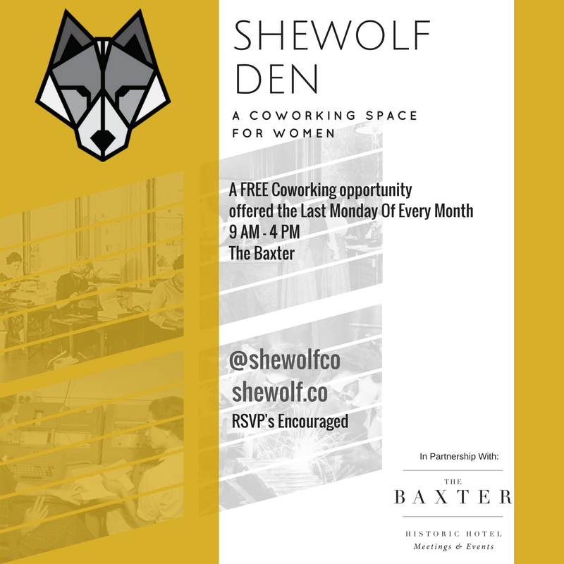 Mobile Office Monday in partnership with SheWolf Collaborative