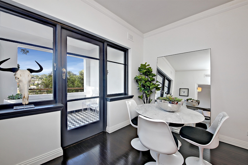 Positioned In An Exclusive Part Of Woollahra The Was Designed With David  Mitchell Interior Design.