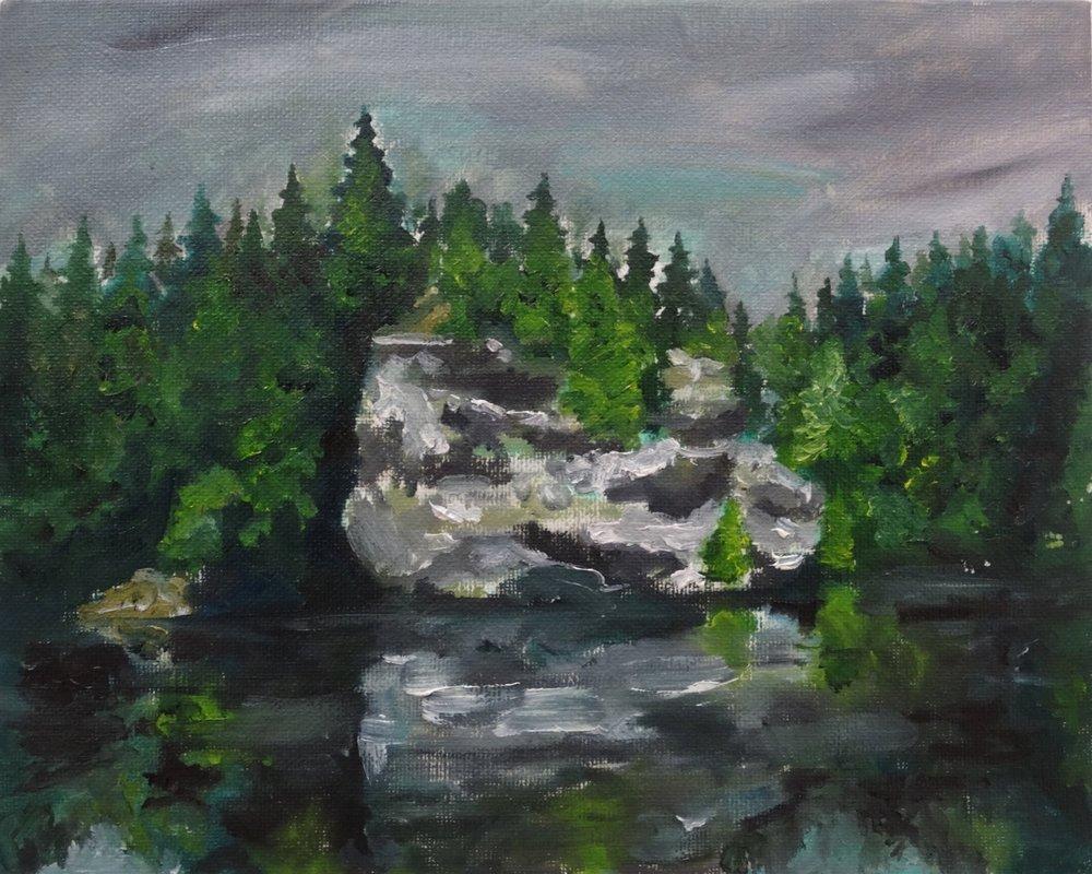 Big Rock, Eramosa River (2016)