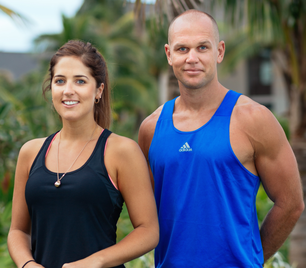 Courtney and Rhys from Crave Fitness Holidays
