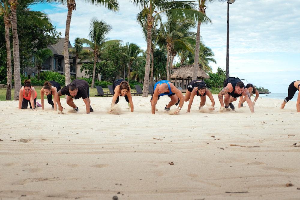 Beach crawls