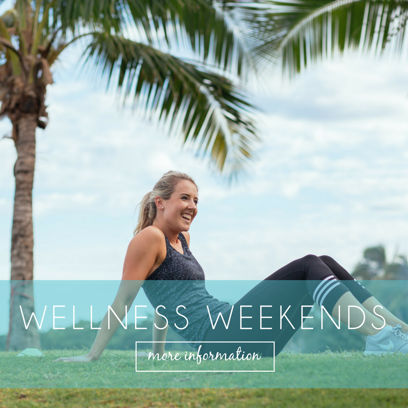 WELLNESS WEEKENDS