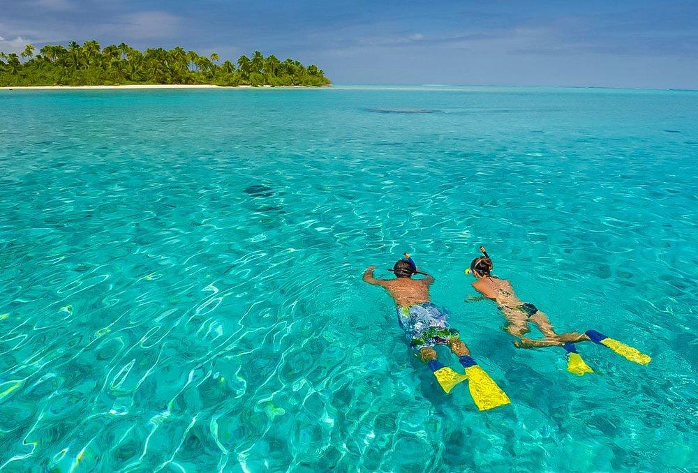 Aitutaki snorkelling