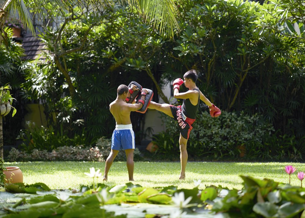 Muay Thai lessons - Crave Thailand Retreat