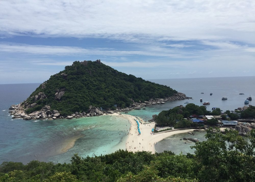 View from Koh Nang Yuan - Crave Thailand Retreat