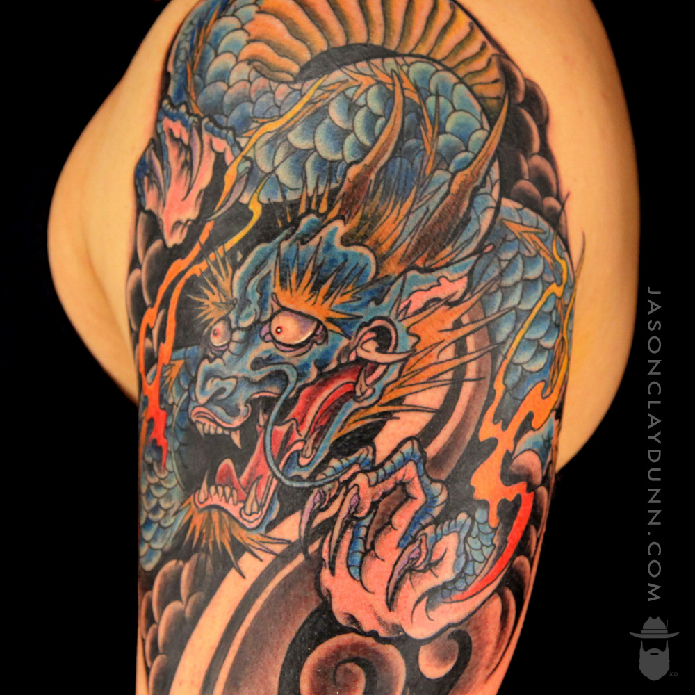 Tattoos by jason clay dunn ink master jason clay dunn for Best tattoo inks