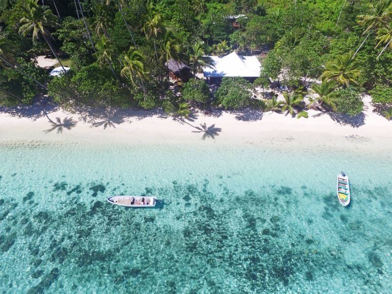 Birdseye view of Maqai Eco Resort
