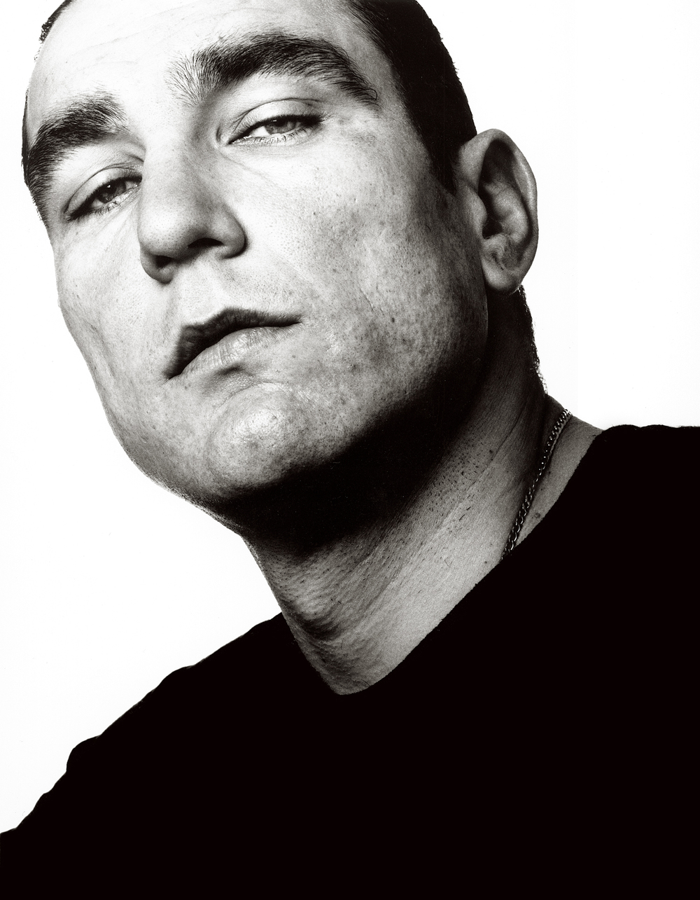 Vinnie Jones, Actor, Book cover.  Portrait by Anthony Oliver
