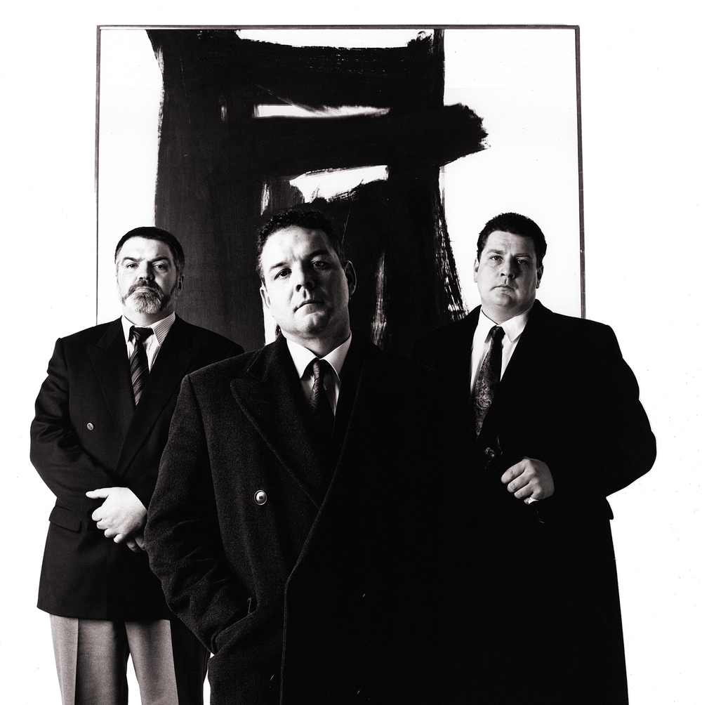 Franz Klein and Bouncers, For Sam Taylor-Wood at the Tate. Portrait by Anthony Oliver