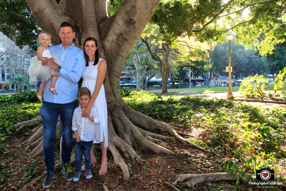 family photography at hyde park sydney