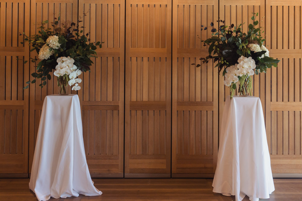 wedding decoration at opera house sydney