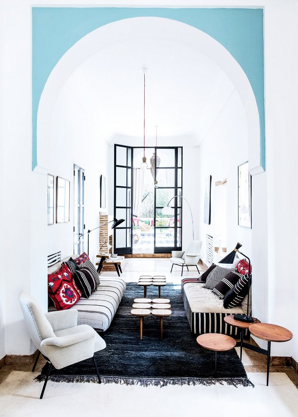 modern moroccan style // via Habitation Co.