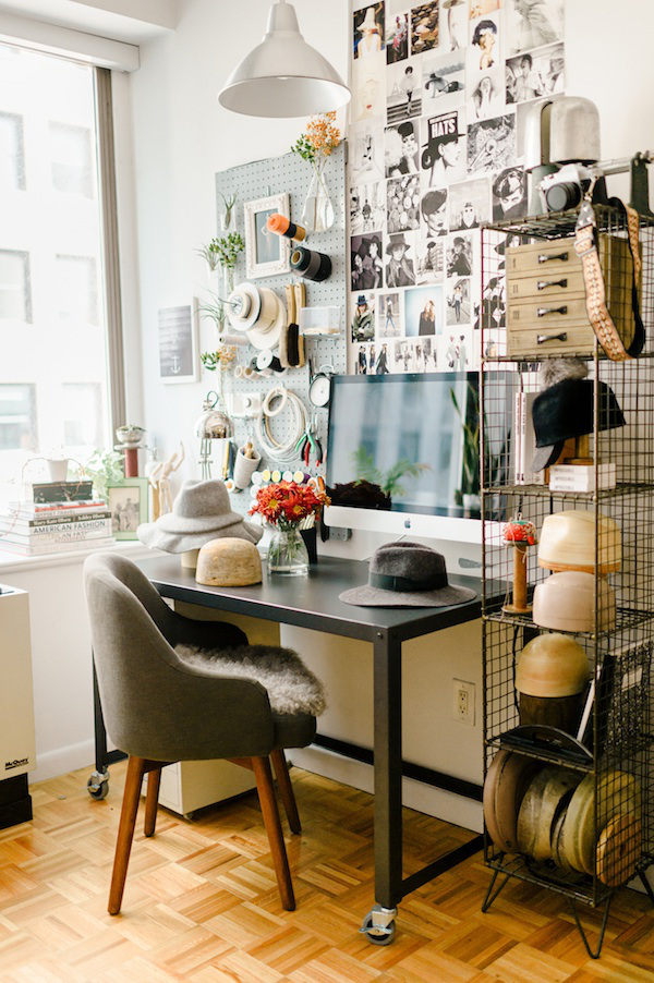 The Process of Living: The Inspiring Office Spaces of Creative Entrepreneurs // via Habitation Co.