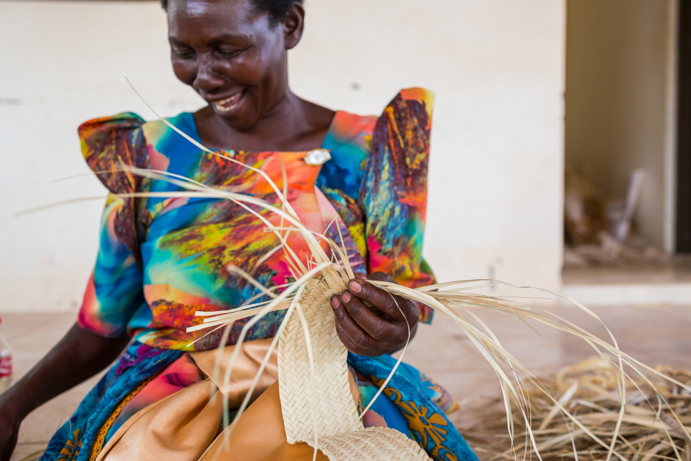 Basket Weaving in Rwanda // Habitation Co.