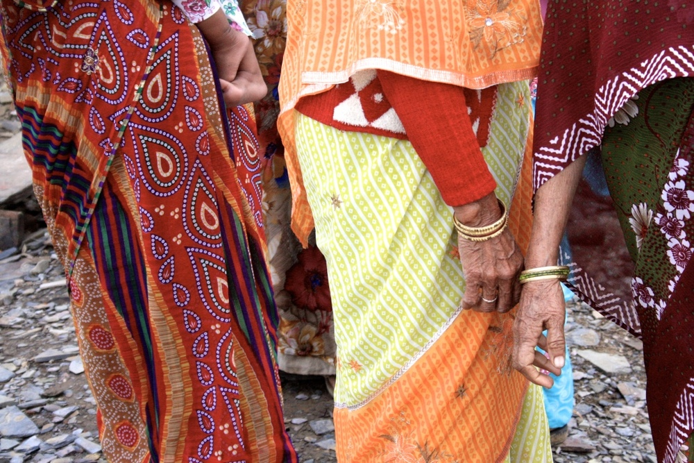 The Beautiful Sarees of Rajasthan // via Habitation Co.