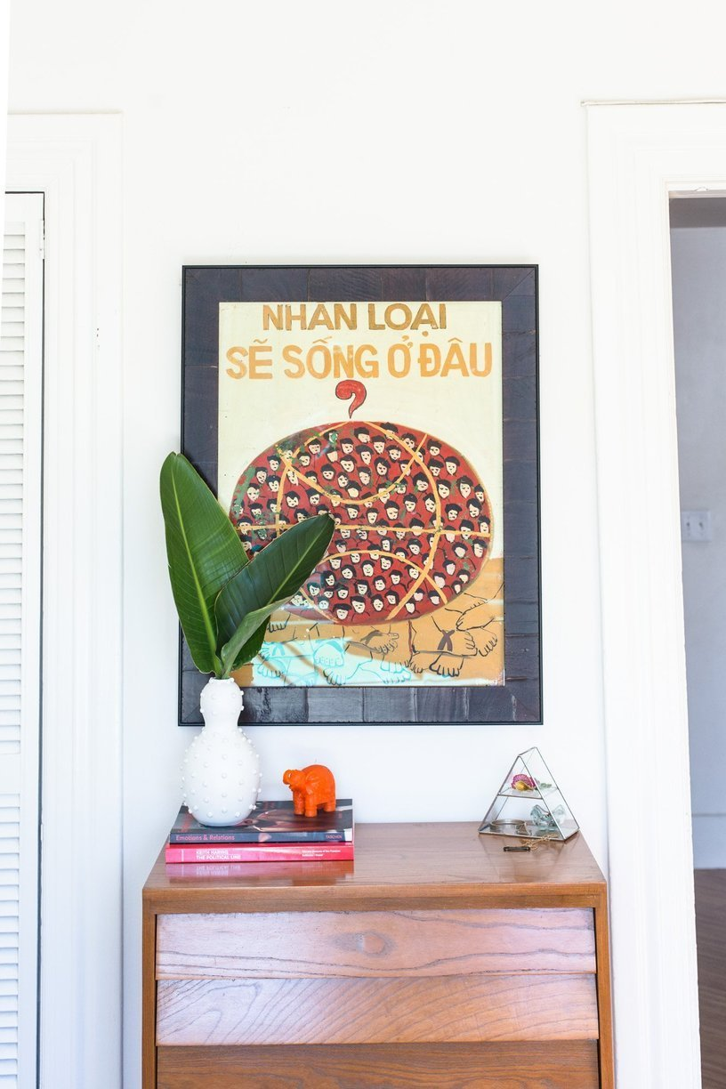 An Artsy Couple's Colorful San Francisco Pad // Habitation Co.