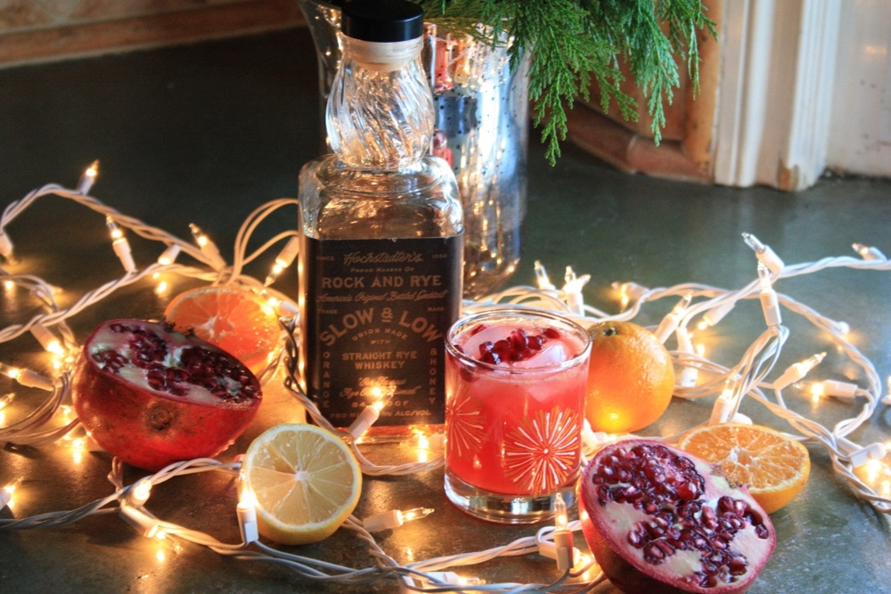 The New Old Fashioned Way // Holiday Cocktail Recipe // Habitation Co.