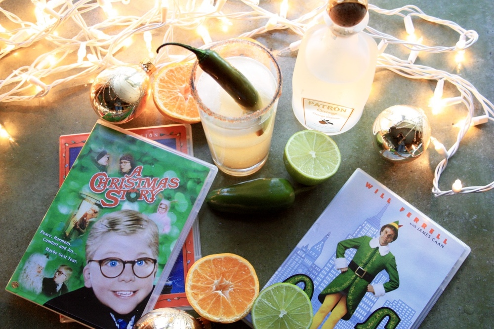 Netflix & Chili Jalapeno Margaritas // Holiday Cocktail Recipe // Habitation Co.