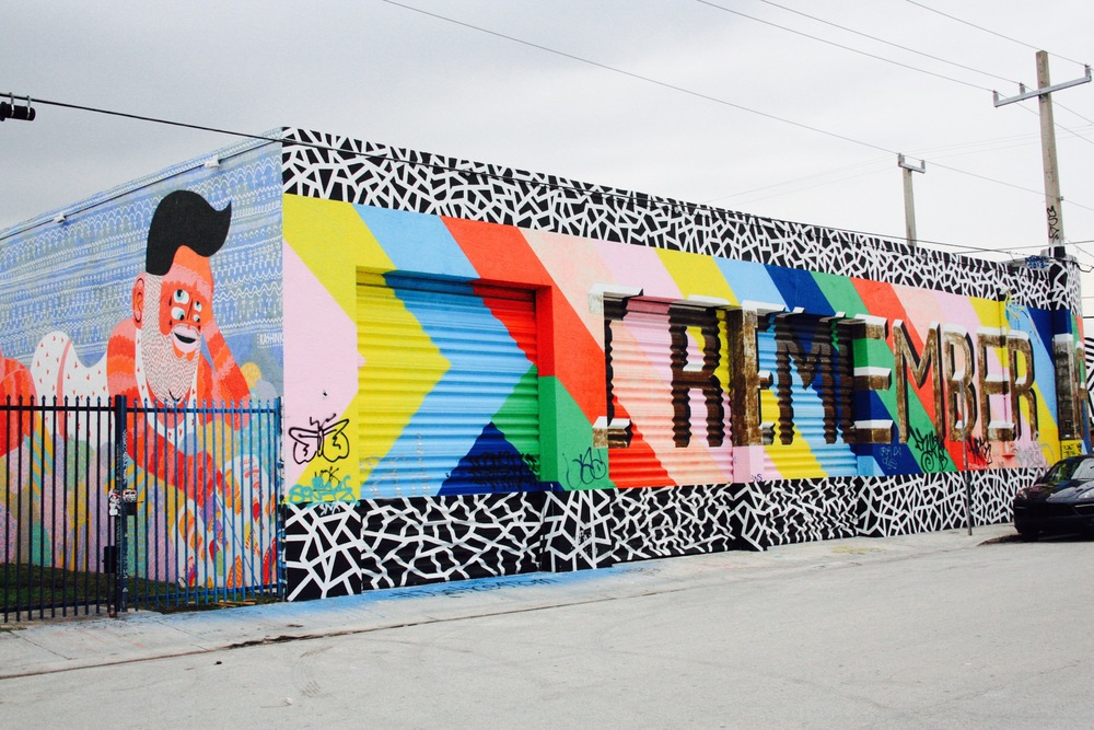 Wynwood Arts District, Miami // Wynwood Walls // Habitation Co.