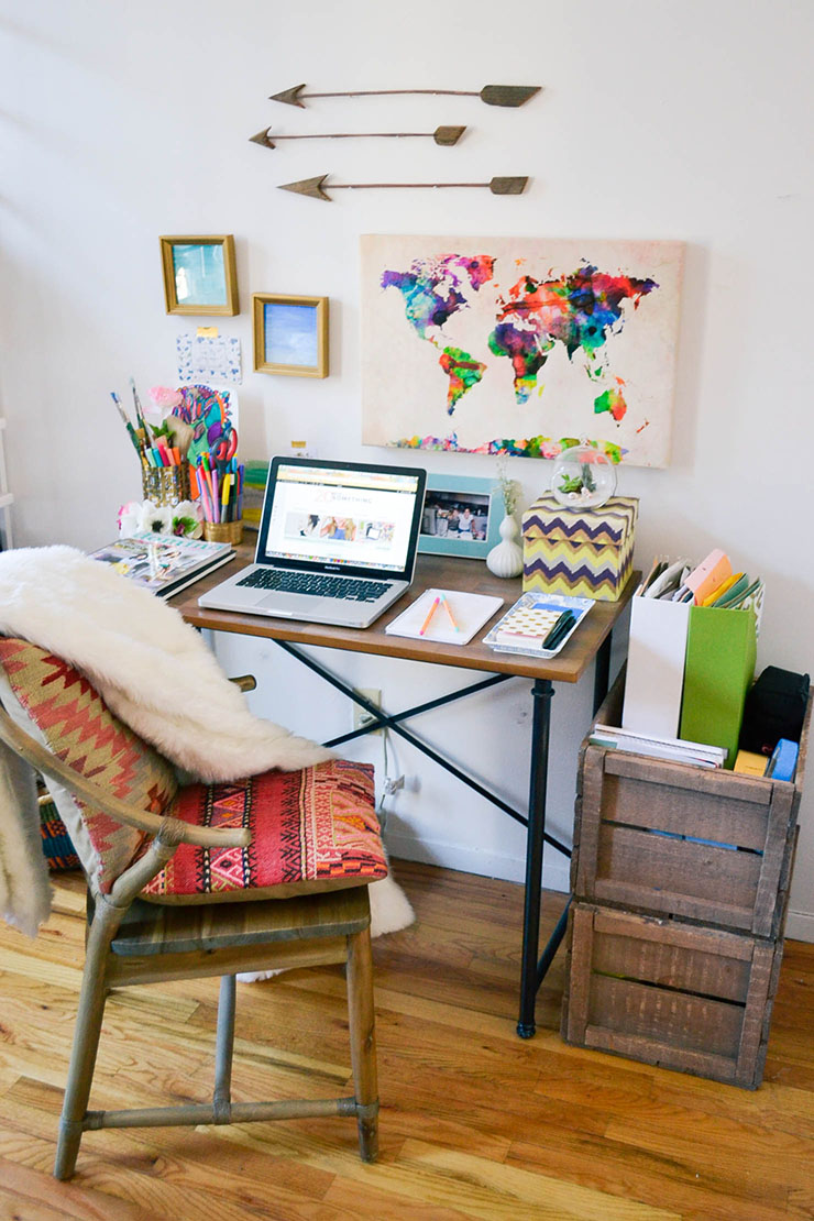 The Process of Living: The Inspiring Offices of Creative Entrepreneurs // via Habitation Co.