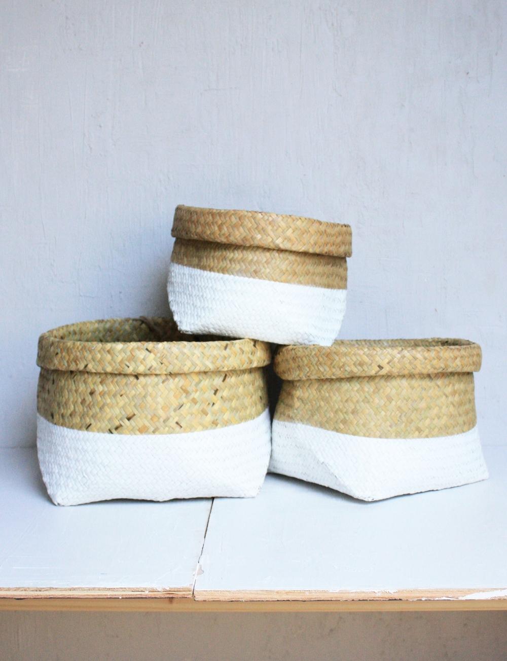 HABITATION Baskets Bowls