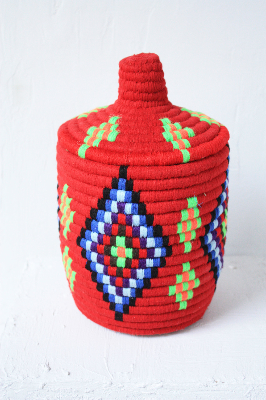 Habitation Moroccan Berber Bread Basket Keela Fair Trade Home Decor