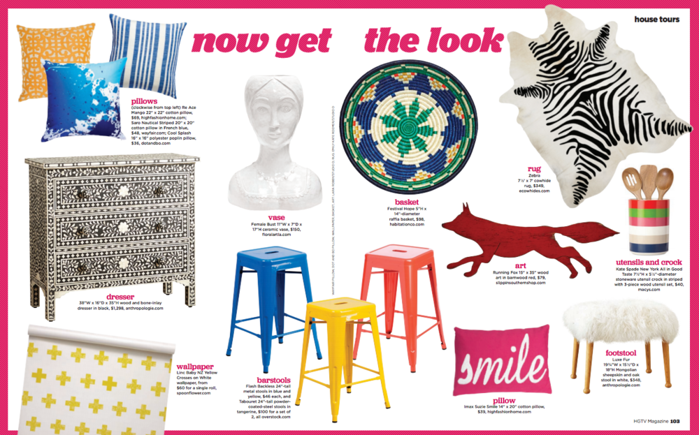 Still can't believe Habitation Co. gets to share the page with some of the biggest names in the biz, and my go-to sources for home decor inspiration: Anthropologie, Dot & Bo, Overstock, Spoonflower, and more! So friggin' cool!