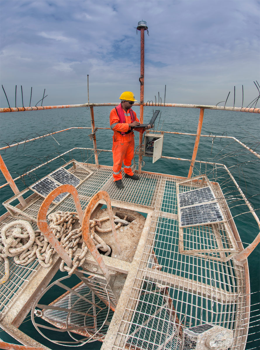 Offshore structures require BOSIET and sea survival training.
