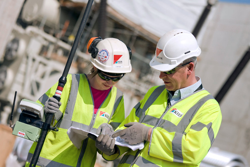 Women in construction.