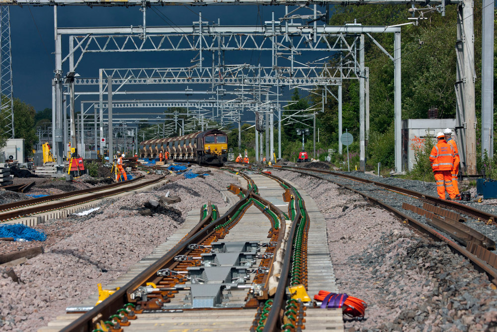 Railway Infrastructure upgrade photographers PTS.