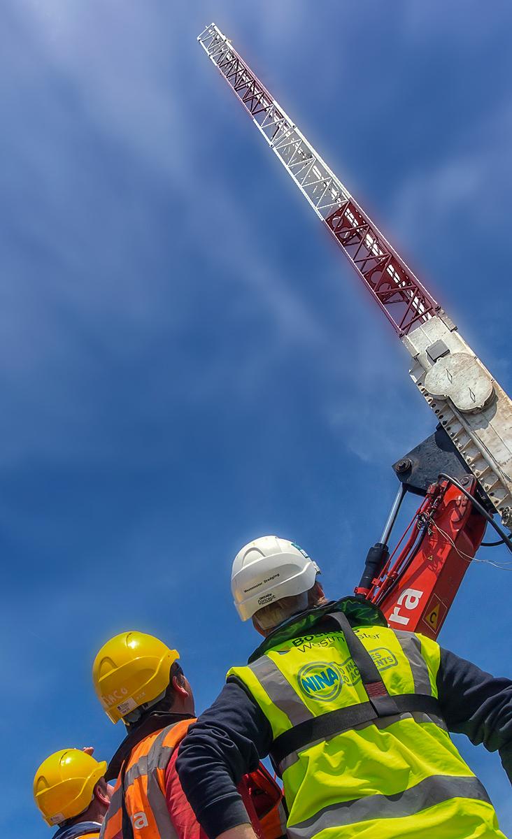UK UAE Construction Photographers with BOSIET