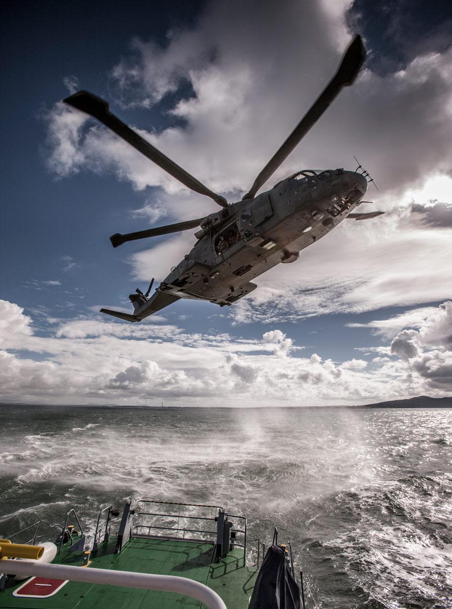 Offshore helicopter BOSIET HUET
