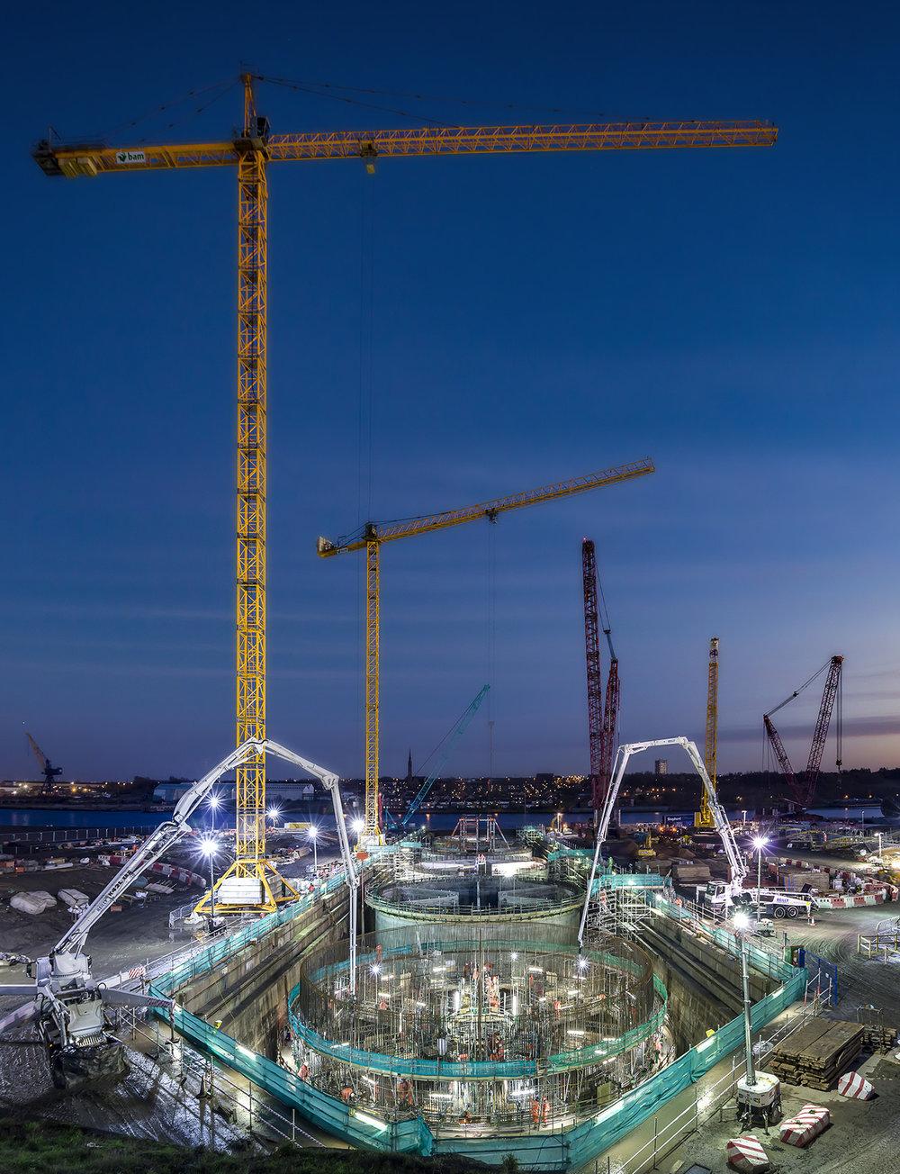 Construction site photographers