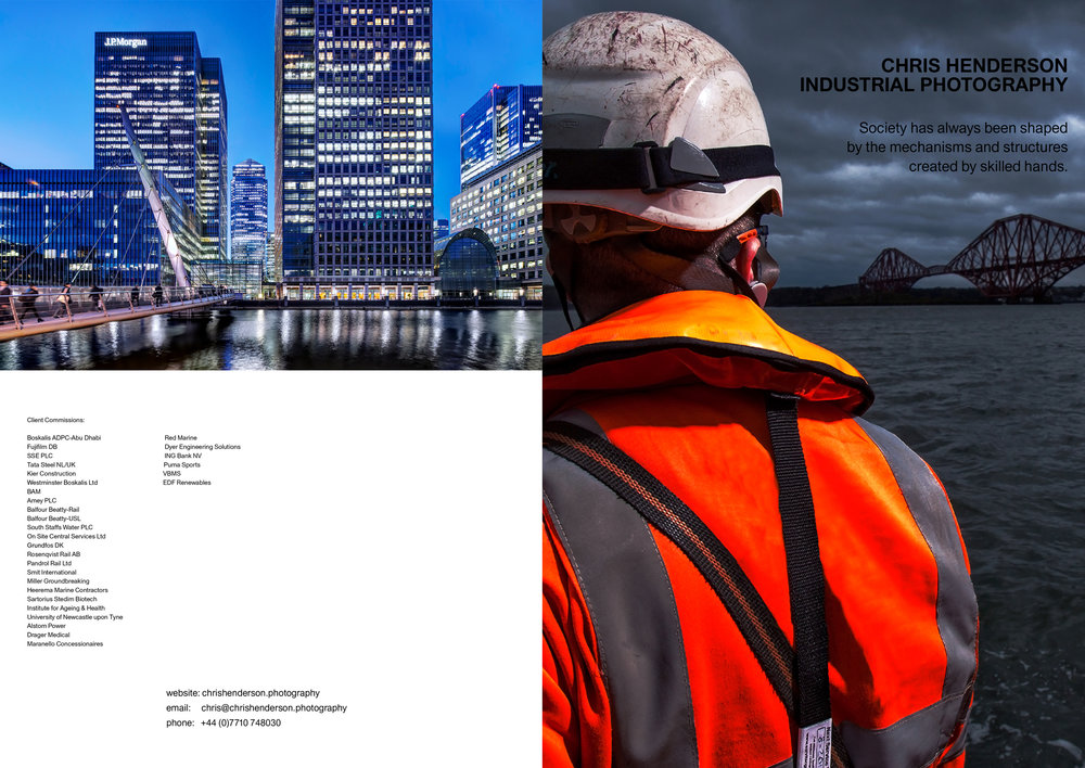 Industrial Photography Brochure PDF.
