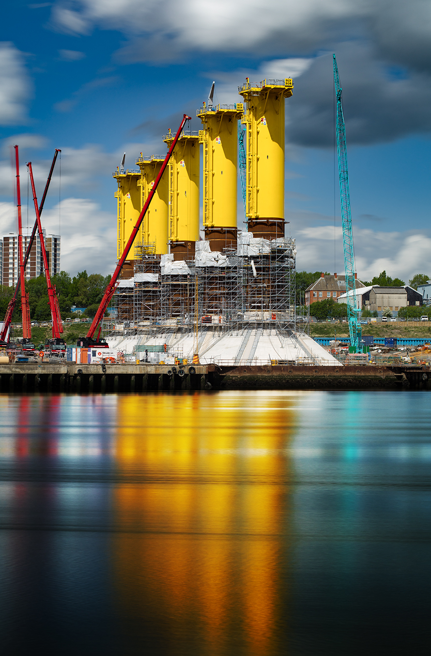 Offshore Wind Construction Photography.