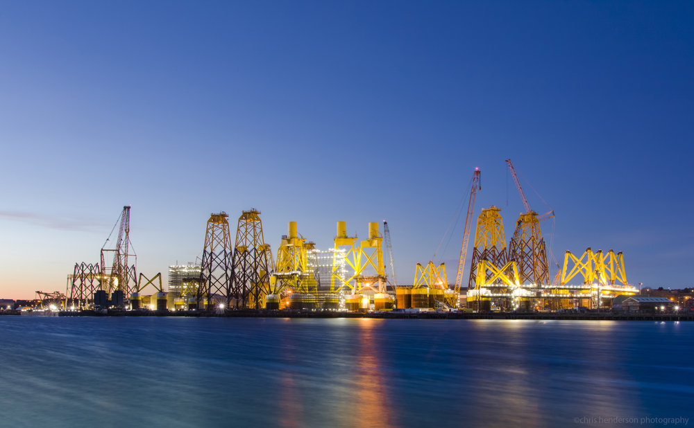 Newcastle offshore commercial industrial photographers