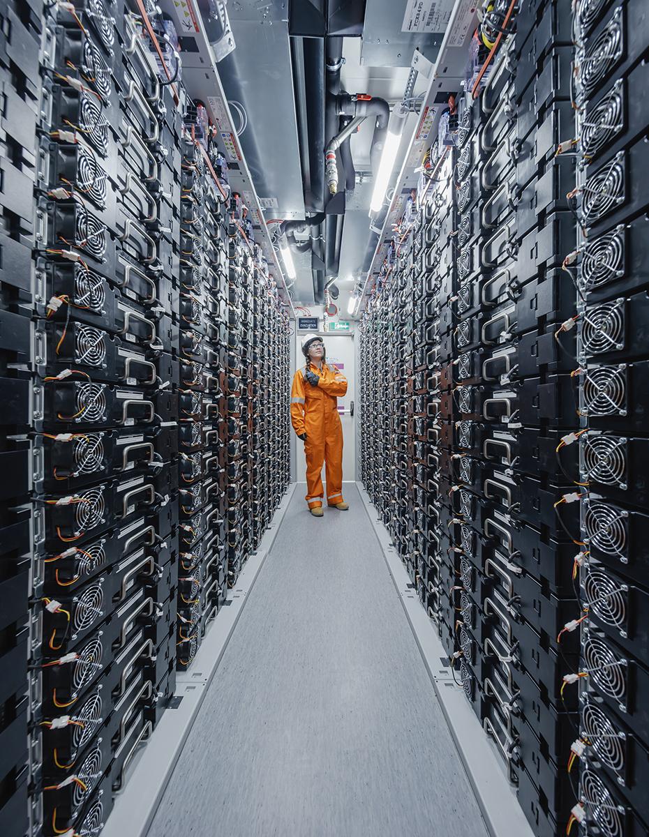 Battery storage renewable energy