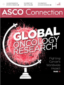 "ASCO Connection  January 2018  ""The Stories of the Scientists Behind Immuno-Oncology, in Their Own Words"""
