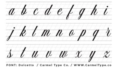 Number Names Worksheets lower case letter practice sheets : Formal Script Lettering Basics — Ray Mawst Lettering & Design