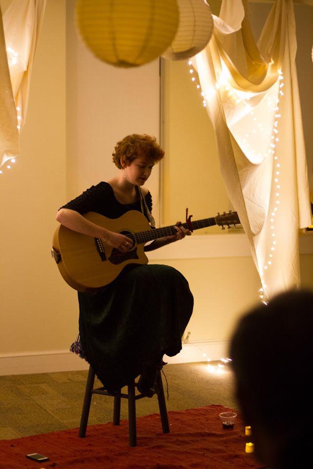 Graham Marema performing 2014.