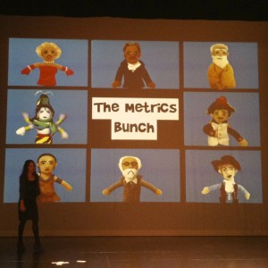 The Metrics Bunch at UXMad