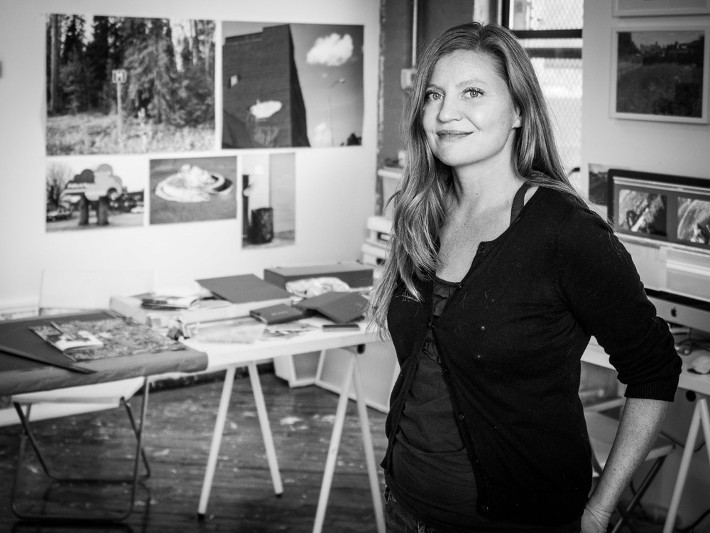 Portrait of Photographer Katarina Jerinic in her Art Studio Gowanus Brooklyn Neesh NYC