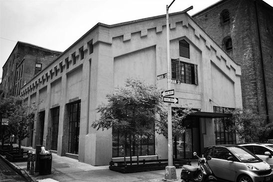 Photo of 16 Main Street in DUMBO, home of Minus Space, from  Brooklyn Daily Eagle