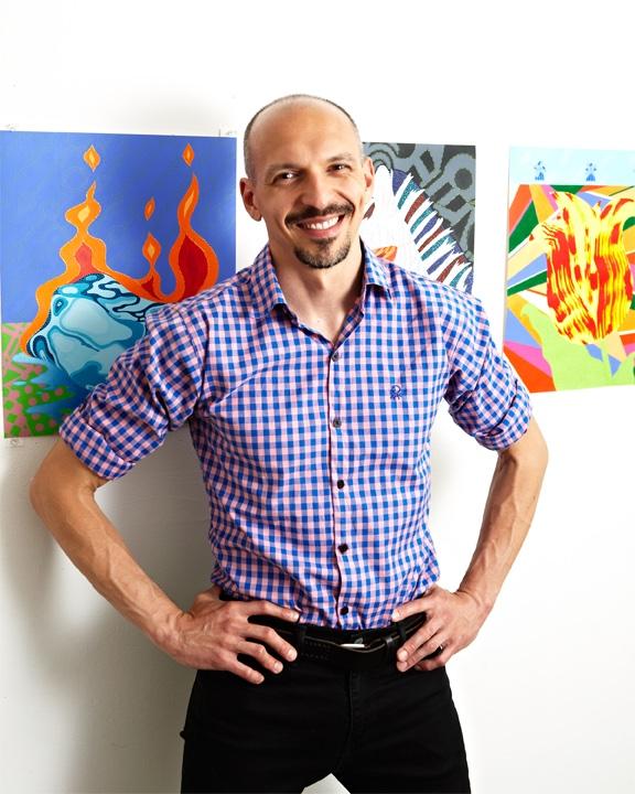 Eric Hibit Artis Book Kickstarter