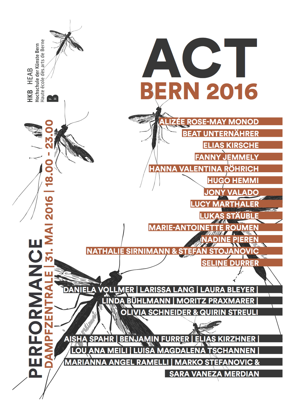 flyer ACT Bern 2016